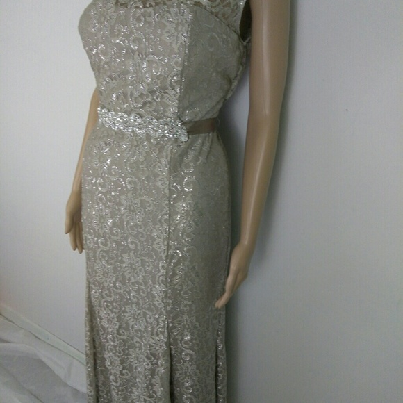 ec6ba061f9a2 Betsy & Adam Dresses | Womens Betsy Adam Formal Prom Lace Long Dress ...